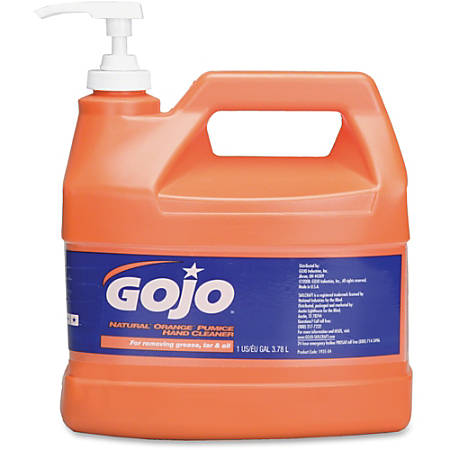 Gojo® SKILCRAFT® Natural Orange Pumice Cleaner, 128 Oz (AbilityOne 8520-01-458-0767)