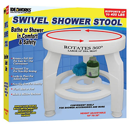 Jobar Swivel Shower Stool