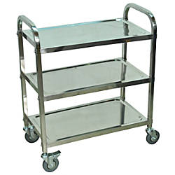 Luxor L100S3 Stainless Steel 3 Shelf