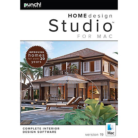 Punch Home Design Studio For Mac V19 Download Version By Office Depot Officemax