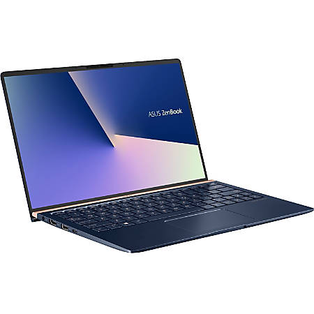"Asus ZenBook 13 UX333FA-DH51 13.3"" Notebook - 1920 x 1080 - Core i5 i5-8265U - 8 GB RAM - 256 GB SSD - Dark Royal Blue - Windows 10 64-bit - Intel UHD Graphics 620 - Tru2Life - Infrared Camera - Bluetooth - 14 Hour Battery Run Time"