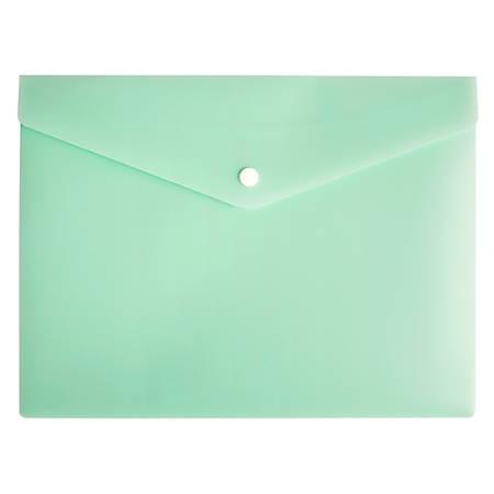 "Office Depot® Brand Poly Envelope, 1/2"" Expansion, Letter Size, Mint"