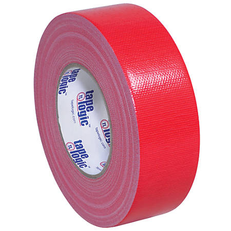 "Tape Logic® Duct Tape, 10 Mil, 2"" x 60 Yd., Red, Case Of 3"