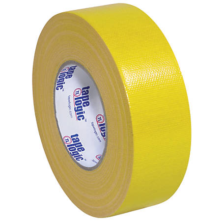 "Tape Logic® Duct Tape, 10 Mil, 2"" x 60 Yd., Yellow, Case Of 3"