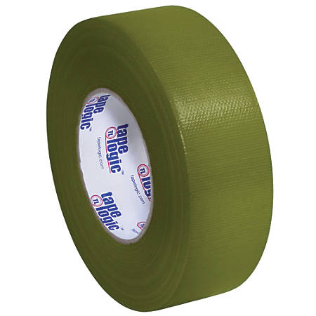 "Tape Logic® Duct Tape, 10 Mil, 2"" x 60 Yd., Olive Green, Case Of 3"