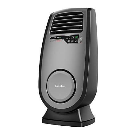 Lasko ULTRA Ceramic Heater - Ceramic - Electric - 1500 W - 2 x Heat Settings - Black
