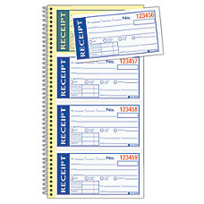 Adams Write N Stick Receipt Book
