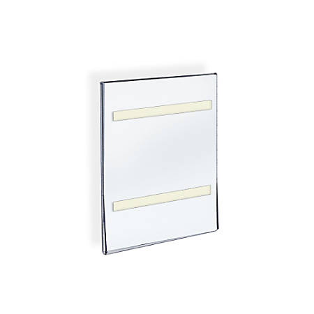 Azar Displays Acrylic Sign Holders With Adhesive Tape 11 X