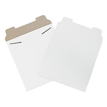 "Office Depot® Brand White Flat Mailers, 20"" x 27"", Box Of 50"