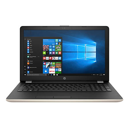 "HP 15-bw071nr Laptop, 15.6"" Screen, 7th Gen AMD A9, 4GB Memory, 1TB Hard Drive, Windows® 10 Home"