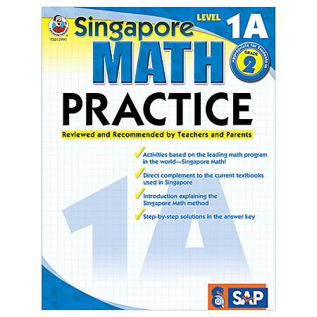 Carson-Dellosa Singapore Math Practice, Level 1A, Grade 2