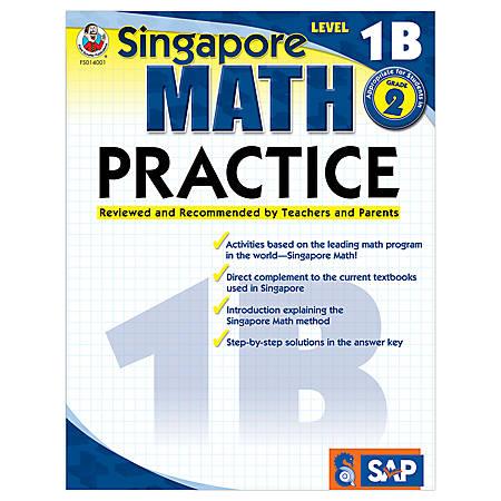 Carson-Dellosa Singapore Math Practice, Level 1B, Grade 2