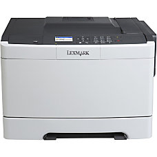 Lexmark CS410N Color Laser Printer Low