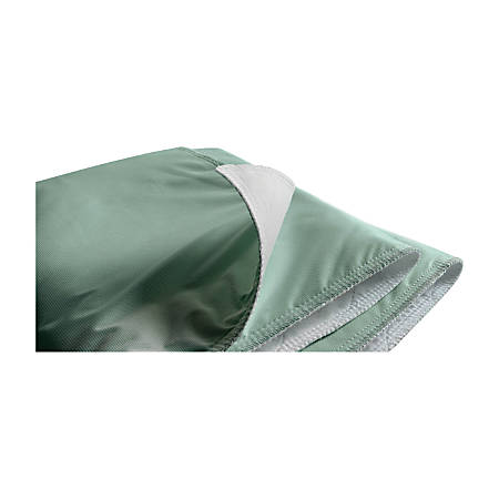 "Triumph® Underpads, 34"" x 48"", Green/White, Pack Of 12"