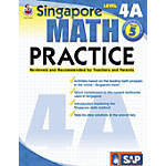 Frank Schaffer Singapore Math Practice Supplemental Workbook, Multiple Levels