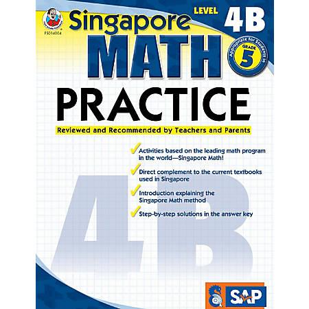 Common Core Math Practice Workbook, Math Level 4B, Grade 5