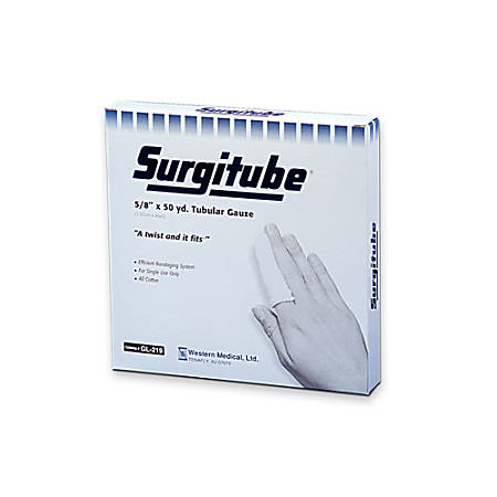 "Derma Sciences Surgitube® Tubular Gauze With 7/8"" Applicator"