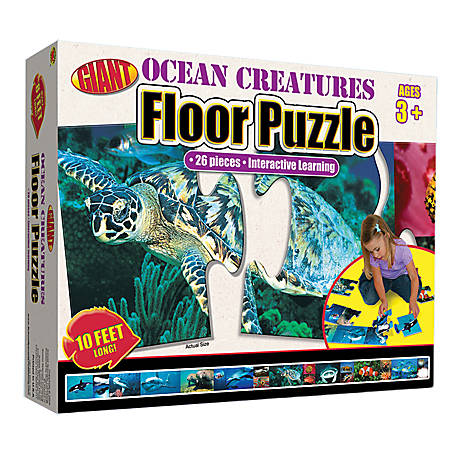 Carson-Dellosa Brighter Child Floor Puzzle, Ocean