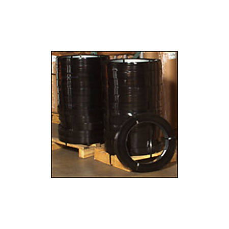 """High-Tensile Steel Strapping, 1 1/4"""" x .025 Gauge x 940'"""