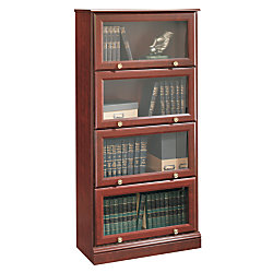 sauder wooden stylish shelf elegant in bookcases bookshelves oak lane barrister mahogony mumbai of inspirational bookcase shop buy