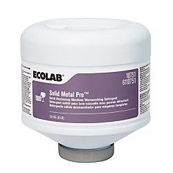 Solid Metal Pro™ Dishwashing Detergent Capsules, 128 Oz Bottle, Pack Of 4