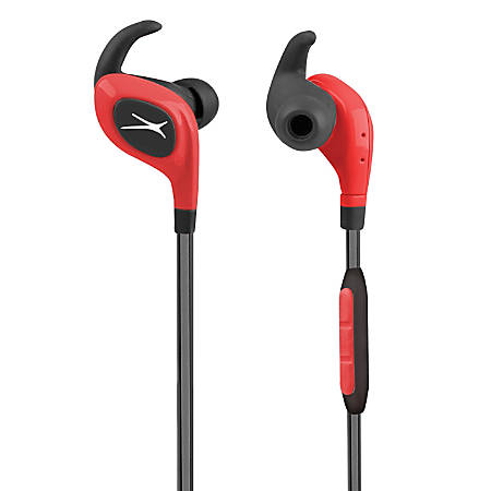 Altec Lansing® Bluetooth® Waterproof Sport Earbud Headphones, Red, MZX399-DR-WM