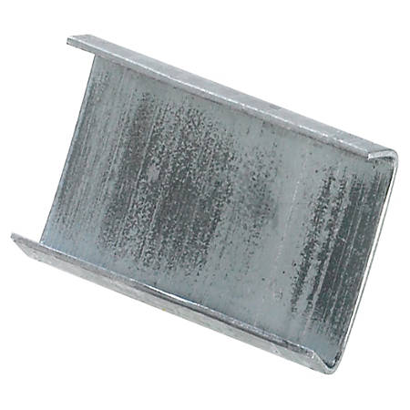 """Open/Snap On Regular Duty Steel Strapping Seals, 3/4"""" x 1"""", Case Of 5,000"""