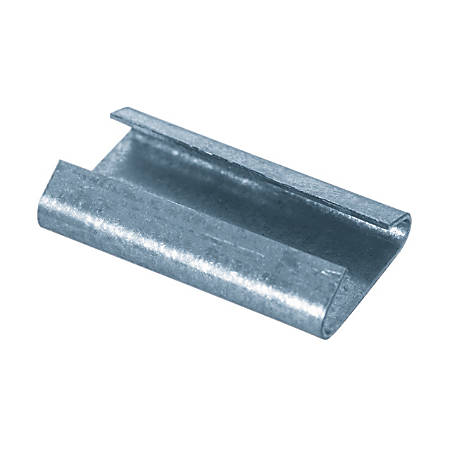 """Closed/Thread On Regular Duty Steel Strapping Seals, 3/4"""" x 1"""",Case Of 5,000"""