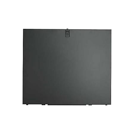"APC by Schneider Electric Split Side Panel - Black - 2 Pack - 35.4"" Height - 43.2"" Width - 0.5"" Depth"