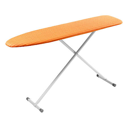 "Honey-Can-Do Standard Ironing Board, 35 7/16""H x 13""W x 13""D, Orange"