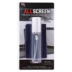 Advantus ReadRight No Drip Screen Cleaning