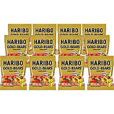 HARIBO Gold Bears Gummi Candy Lemon