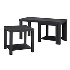 Ameriwood Home Coffee Table And End