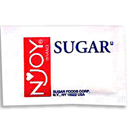 N'Joy® Sugar, 0.1 Oz., Box Of 2,000