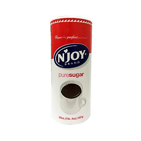 N'Joy® Sugar, 20 Oz. Canister