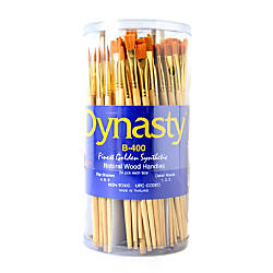 Dynasty Golden Paint Brushes B 400