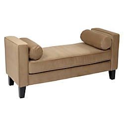 Ave Six Curves Bench CoffeeBrown