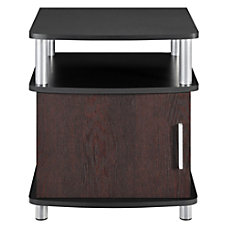 Altra Contemporary End Tables Square CherryBlack