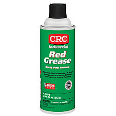 CRC Red Grease 16 Oz Aerosol
