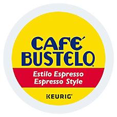 Cafe Bustelo Espresso Roast Coffee Single