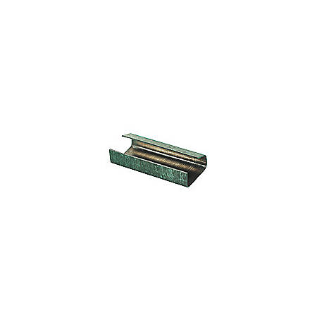 "Open/Snap On Metal Poly Strapping Seals, 1/2"", Pack Of 2,500"