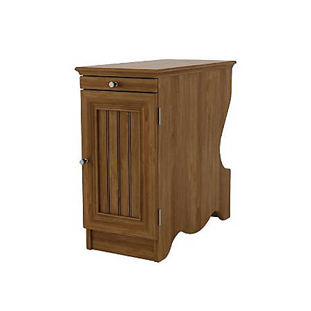 Ameriwood™ Home Occasional Chair Side Table, Rectangle, Bank Alder