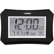Lorell 103 Digital LCD Wall Alarm