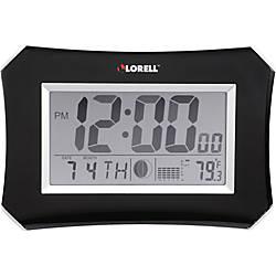 Lorell 103 Digital LCD Wall Alarm