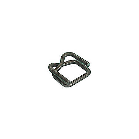 """Heavy Duty Wire Buckles For Poly Strapping,, 1/2"""", Case Of 1,000"""