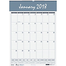 SKILCRAFT Monthly Wall Calendar 12 x