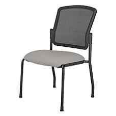 WorkPro Spectrum Armless Guest Chair GrayBlack