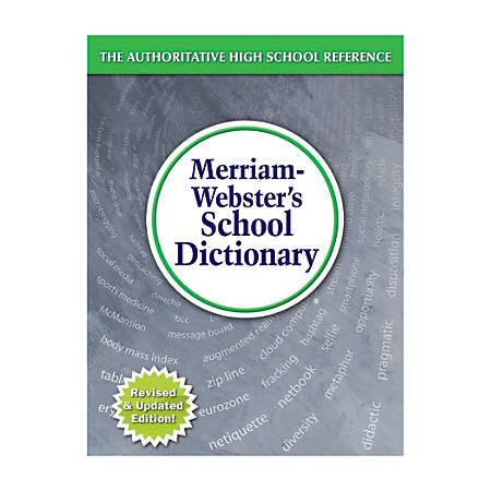 Merriam-Webster's Intermediate Dictionary, Grades 7-12