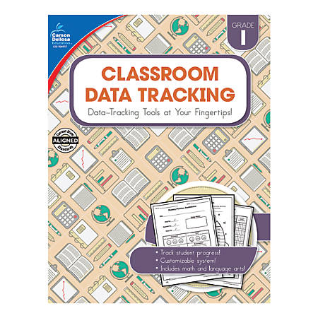 Carson-Dellosa Classroom Data Tracking Resource Book, Grade 1