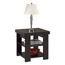 Ameriwood Home Furniture End Table Black